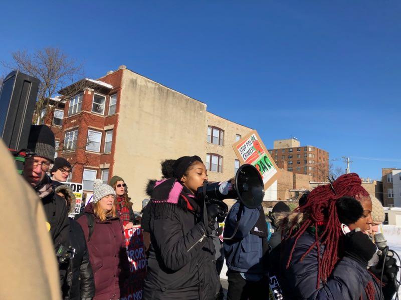 MLK Day 2019 Black Lives Matter march leaders